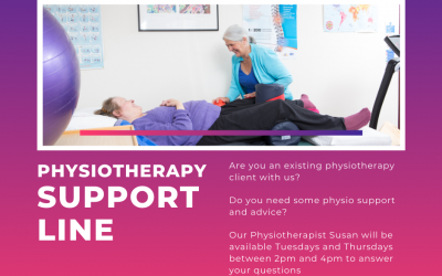 Physio support line launched